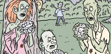 Vegan-friendly comics