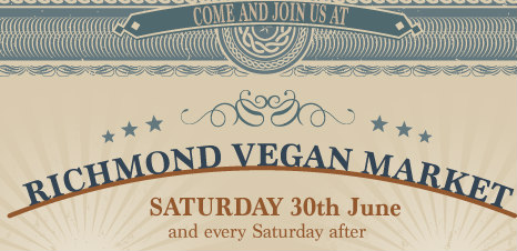 New weekly vegan market in West London