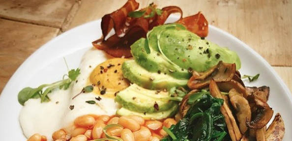 London vegan café keeps impressing
