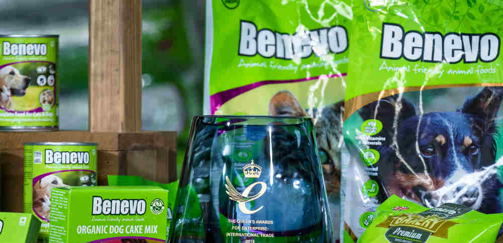 Vegan dog food company wins award