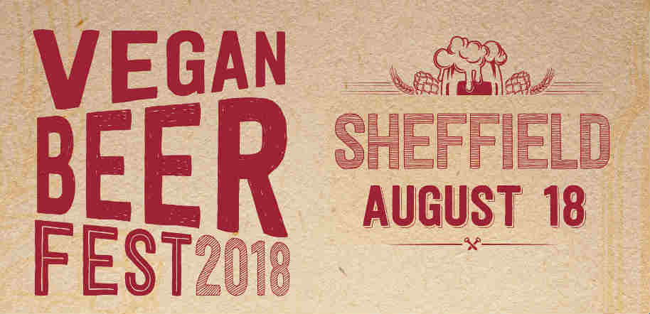 Beer list for Sheffield Vegan Beer Fest 2018