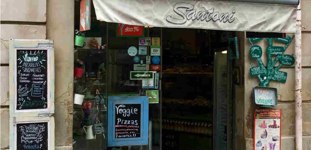 Santoni Cafetería Vegana
