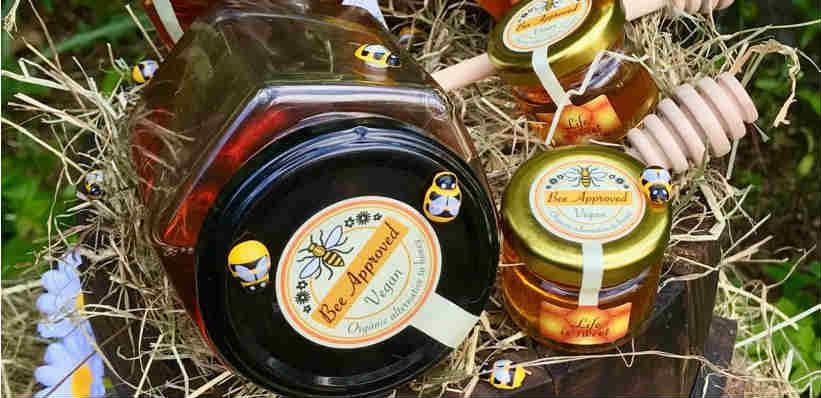New vegan honey in the UK