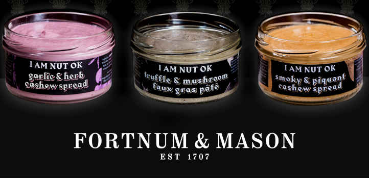 Vegan infiltration at Fortnum and Mason