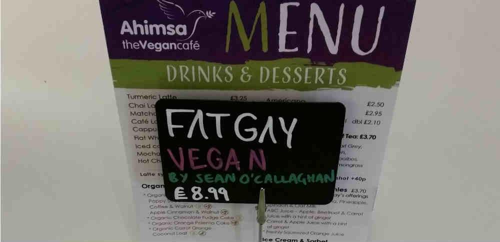 Vegan café in northwest London
