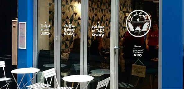Fab vegan café in Paris