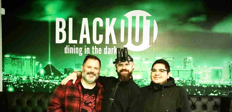 Blackout vegan dining in Las Vegas