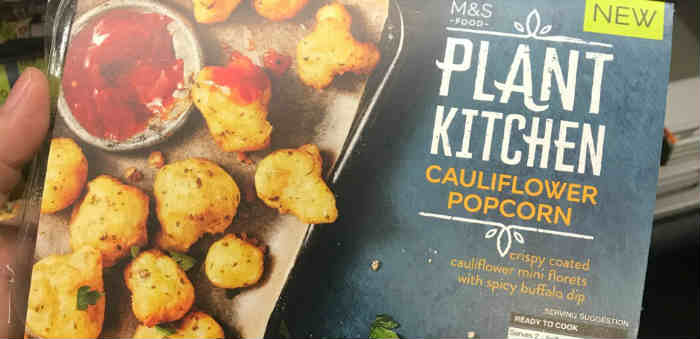 New vegan products at Marks & Spencer