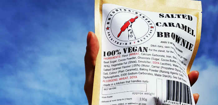 Wholesale vegan brownie