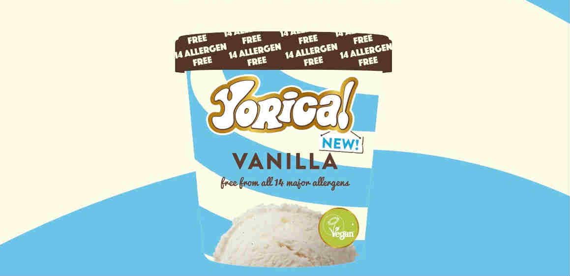 Yorica launches vegan vanilla ice cream in UK supermarket