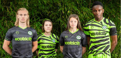 UK football club launches bamboo uniforms