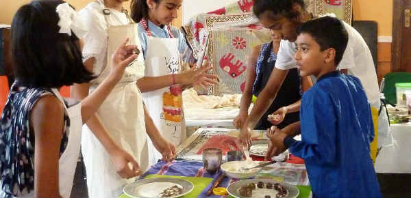 Vegan cooking classes for children in London