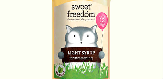 New vegan light sweetener from Sweet Freedom