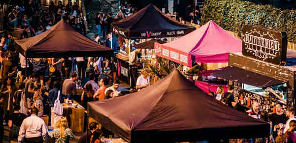 Vegan night market in Hackney this September