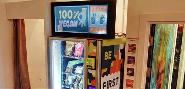 Vegan vending machine in UK first