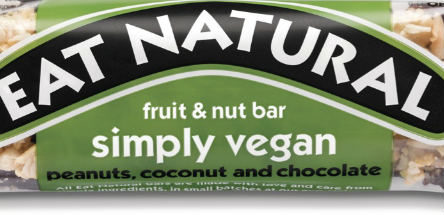 Vegan snack bars for the UK