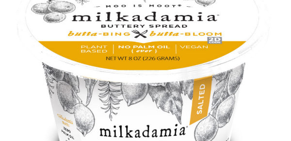 New vegan butter made with macadamia nuts