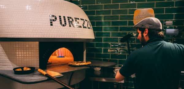 UK's leading vegan pizza restaurant triples in size
