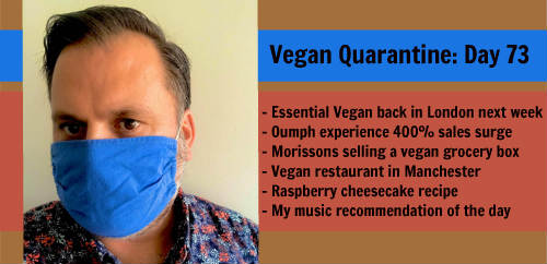 Vegan Quarantine: Day 73
