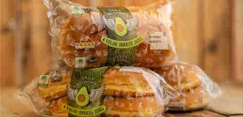 Vegan brioche buns in Waitrose