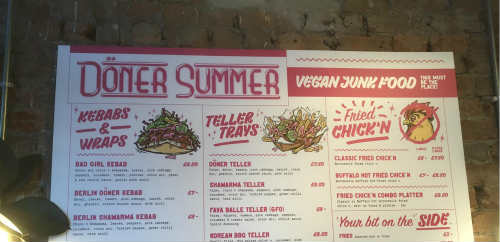 Döner Summer is open in Leeds