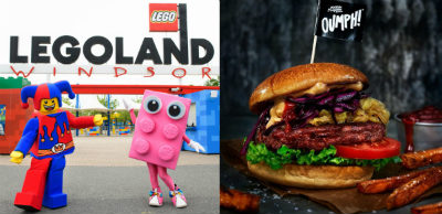 Vegan products at UK LEGOLAND