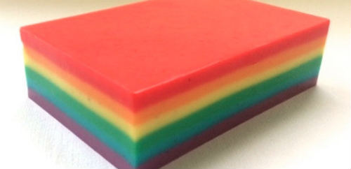 Buy vegan soap to support LGBT charity