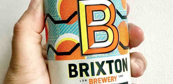 Vegan beer out of Brixton