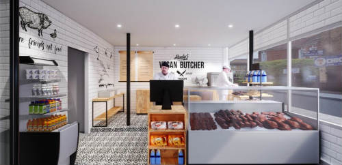 Vegan butcher to open in London
