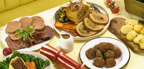 Vegan feast for Xmas delivered to your door