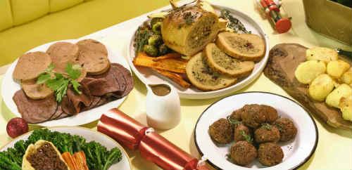 Vegan feast for Xmas delivered to your door