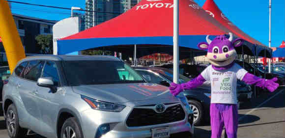 Toyota and Lexus helping drivers eat vegan