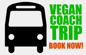 Vegan coach trip with FGV